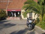 L entrée du village de vacances d Ajaccio